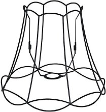 Lampenschirm Granny Frame 35 cm DS E27 schwarz