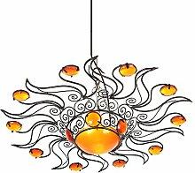 Lampenschirm orientalische Sonnenlampe Raiba 60cm arabische Deckenlampe marokkanische Hängelampe mediterrane Lampe