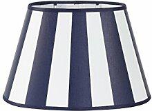 Lampenschirm oval 20-14-14 King Marineblau
