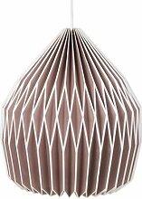 Lampenschirm Papierlampe Design No 11, fawn - Broste Copenhagen