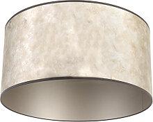 Lampenschirm Silber 50/50/25