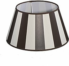 Lampenschirm Streifen Braun TL 30-20-17