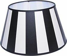Lampenschirm Streifen Schwarz TL 30-20-17