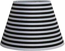 Lampenschirme verschiedene Muster in schwarz/weiß