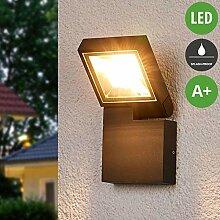 Lampenwelt LED Außenleuchte 'Alijana'