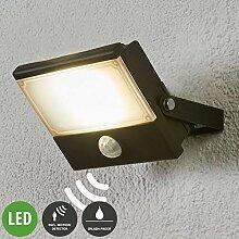 Lampenwelt LED Außenleuchte 'Auron' mit