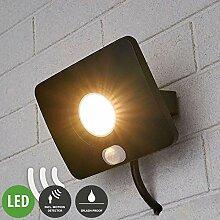 Lampenwelt LED Außenleuchte 'Duke' mit