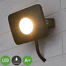 Lampenwelt LED Außenleuchte 'Duke'