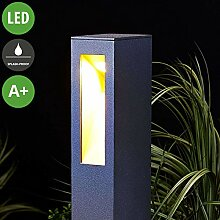Lampenwelt LED Außenleuchte 'Jenke'