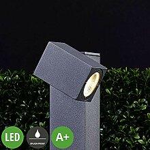 Lampenwelt LED Außenleuchte 'Lorik'