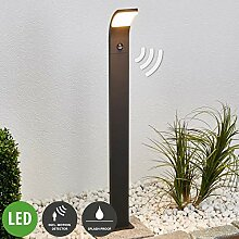Lampenwelt LED Außenleuchte 'Timm' mit
