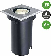 Lampenwelt LED Bodeneinbauleuchte 'Kenan'