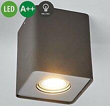 Lampenwelt LED Deckenleuchte 'Giliano'