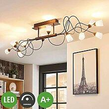 Lampenwelt LED Deckenleuchte 'Hannes'