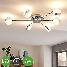 Lampenwelt LED Deckenleuchte 'Ksenija'