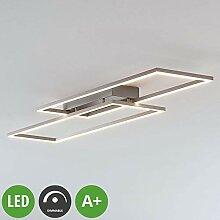 Lampenwelt LED Deckenleuchte 'Quadra'