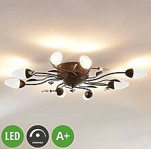 Lampenwelt LED Deckenleuchte 'Renato'