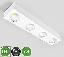 Lampenwelt LED Deckenleuchte 'Sonja'