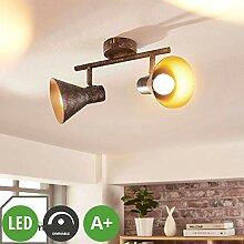 Lampenwelt LED Deckenleuchte 'Zera'