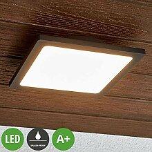 Lampenwelt LED Deckenleuchten 'Mabella'