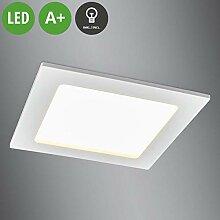 Lampenwelt LED Einbaustrahler 'Feva'