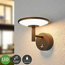 Lampenwelt LED Wandleuchte außen 'Fenia'