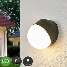 Lampenwelt LED Wandleuchte außen 'Fjodor'