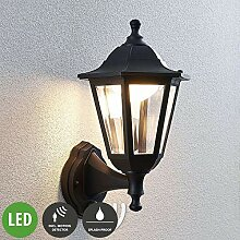 Lampenwelt LED Wandleuchte außen 'Iavo'