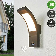 Lampenwelt LED Wandleuchte außen 'Juvia'