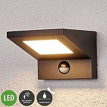 Lampenwelt LED Wandleuchte außen 'Levvon'