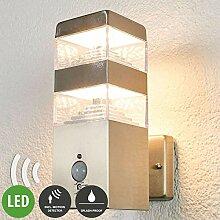 Lampenwelt LED Wandleuchte außen 'Sinja'
