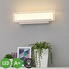 Lampenwelt LED Wandleuchte, Wandlampe Innen