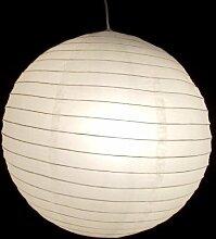 Lampion weiß 02 weiß Lampe Papier Pendelleuchte