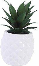 lamta1k Künstliche Pflanze Ananas Bonsai, hohe