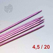 Lana Grossa Nadelspiel Design-Holz 20cm / 4,5mm