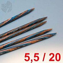 Lana Grossa Nadelspiel Design-Holz 20cm / 5,5mm