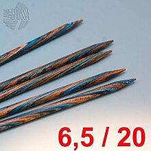 Lana Grossa Nadelspiel Design-Holz 20cm / 6,5mm