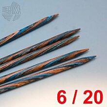 Lana Grossa Nadelspiel Design-Holz 20cm / 6mm