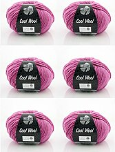 Lana Grossa Wolle * Cool Wool Fb 530 * 6 Knäuel