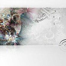 Lana KK Vlies Fototapete Tapete Poster, abstraktes Motiv in 420 x 240 cm - Magic Bunt -