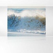 LanaKK - Aufschäumen - Fototapete Poster-Tapete - edler Kunstdruck auf Vliestapete in 300x240 cm