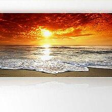 LanaKK - Das Meer - Fototapete Poster-Tapete - edler Kunstdruck auf Vliestapete in 420x240 cm