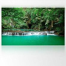 LanaKK - Dschungel - Fototapete Poster-Tapete - edler Kunstdruck auf Vliestapete in 300x180 cm