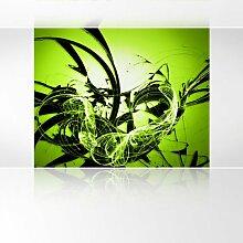 LanaKK - Graf Apfel - Fototapete Poster-Tapete - edler Kunstdruck auf Vliestapete mit Stuck Optik in 300x240 cm