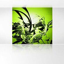 LanaKK - Graf Apfel - Fototapete Poster-Tapete - edler Kunstdruck auf Vliestapete mit Stuck Optik in 180x180 cm