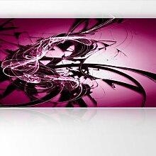 LanaKK - Graf Pink - Fototapete Poster-Tapete - edler Kunstdruck auf Vliestapete mit Stuck Optik in 420x240 cm