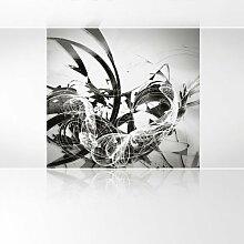 LanaKK - Graf Silver - Fototapete Poster-Tapete -