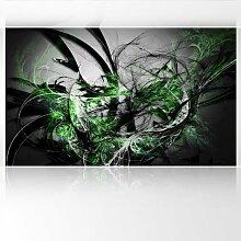 LanaKK - Grow Green - Fototapete Poster-Tapete - edler Kunstdruck auf Vliestapete mit Stuck Optik in 300x180 cm