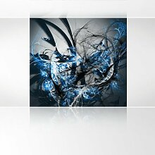 LanaKK - Grow Ice - Fototapete Poster-Tapete - edler Kunstdruck auf Vliestapete in 240x240 cm