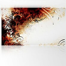 LanaKK - Jungle Drum RS - Fototapete Poster-Tapete - edler Kunstdruck auf Vliestapete mit Stuck Optik in 300x180 cm